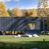 Семейный домик в лесу (Сделано по референсу)