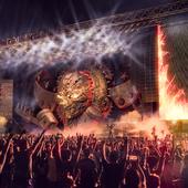 концепт сцены для рок фестиваля