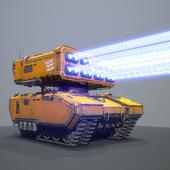 Zulu heavy missle\laser carrier