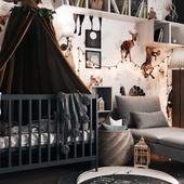 Scandinavian children's room design