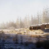The Winter Exterior.
