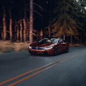 BMW I8 Forest 2