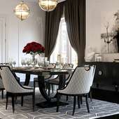 Artdeco Dining Room