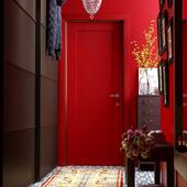 красный холл (сделано по референсу)
