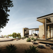 Visualization | Saddle Peak House | Exterior | Reference