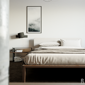 Hotel apartments/ design of one of the rooms