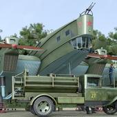 ТБ-3 (4 х М17). Аэродром