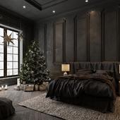 Dark bedroom (сделано по референсу)