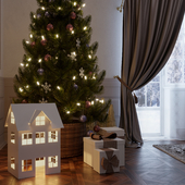 Christmas interior for Neo Graphics Studio