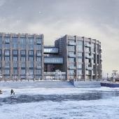 Зима в Петроградском районе