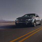 Desert sun. BMW M4