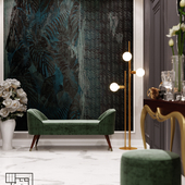 Luxry hall design modern