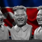 Ким Чен Ын, пухлый диктатор))