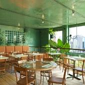 Bar Botanique Cafe Tropique (сделано по референсу)