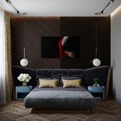 bedroom design,coronarender