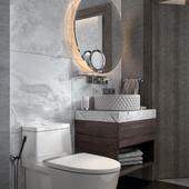 Ванная комната гостиницы