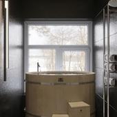 Банная комната с купальней