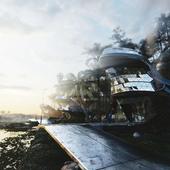 Дом на болоте (концепт)