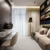 Visualization | Apartment | Children room (сделано по референсу)