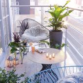 Balcony (сделано по референсу)
