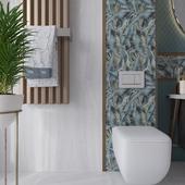 Bathroom with tile Kerama Marazzi