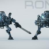 Titanfall 2 - Ronin, Lego action figure