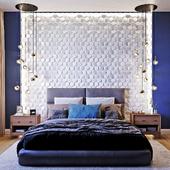 Спальня для молодой пары.