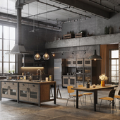 Various Loft Kitchen Designs
