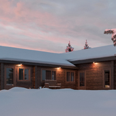 Snow Tree House