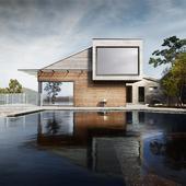 Cabin Straumsnes | Rever & Drage Architects (сделано по референсу)