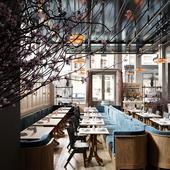 AVE La Mercerie Cafe (сделано по референсу)
