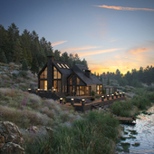 Black House on the River