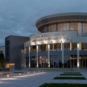Здание музея, г. Актау, Казахстан