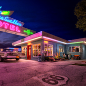 Motel Blue Swallow Route 66
