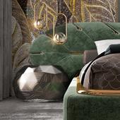 neoclassic bedroom design interior