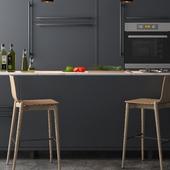 Modern Kitchen Detail Render