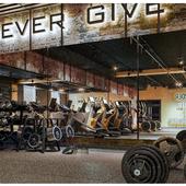 industrial loft fitness interior