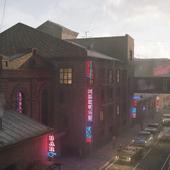 Индустриальный городок (живое полотно)