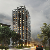 Apartment building presentation