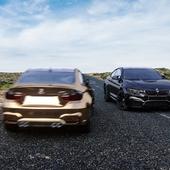 BMW M4 Desert visualization