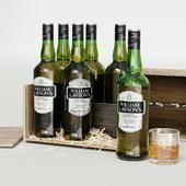 William Lawsons. Whiskey from Scotland. CGI