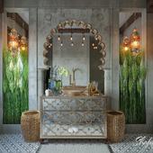 arabic style bathroom design