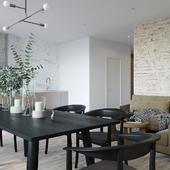 Дизайн 3-комнатной квартиры в Киеве