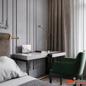 Спальня со стилем