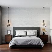 Спальня из текущего проекта