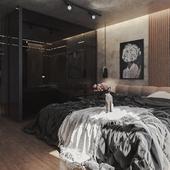 Bedroom Design Modern Loft