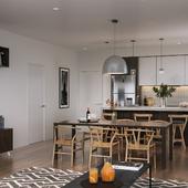 Небольшая квартира в современном стиле