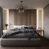 Спальня в Швейцарии