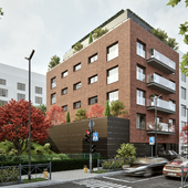 Apartament building in Prague