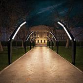«МАЖОРДО́М» - Парковый светильник - фонарь.